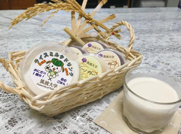 図1:ライスミルクとライスプリン